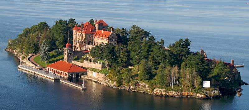 Castle Photos | Singer Castle on Dark Island, USA