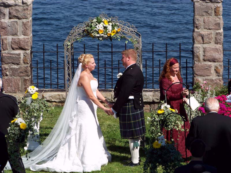 Wedding on Dark Island