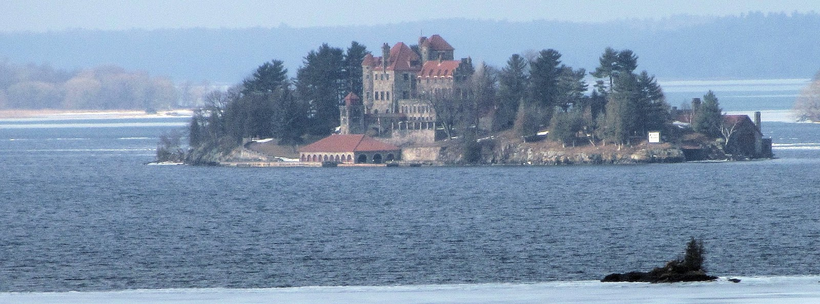 Singer Castle in March 2013