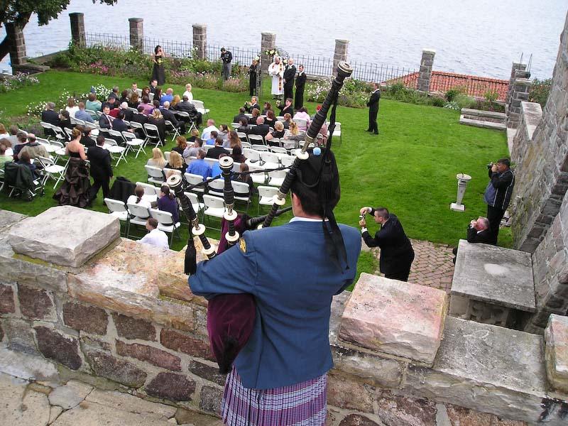 Wedding on Dark Island